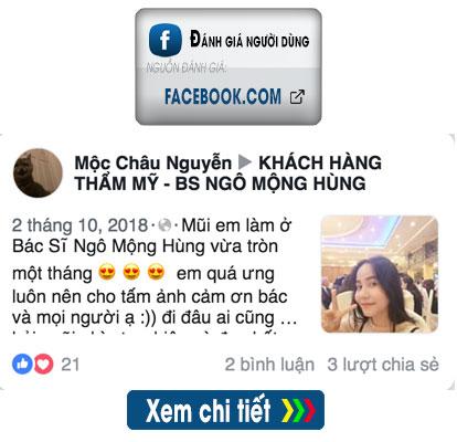 Đánh giá trên Facebook