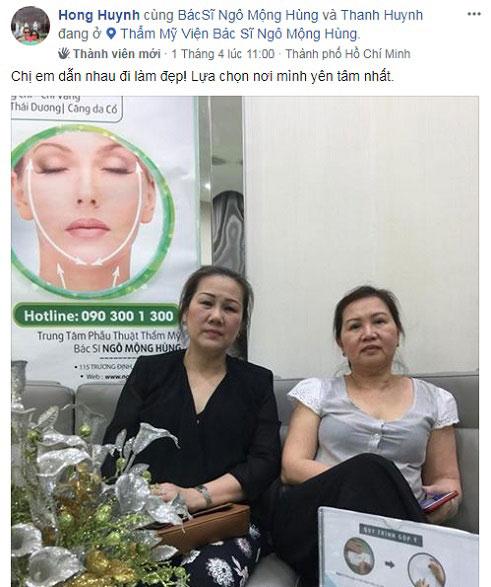 Chăm sóc sau căng da mặt nội soi