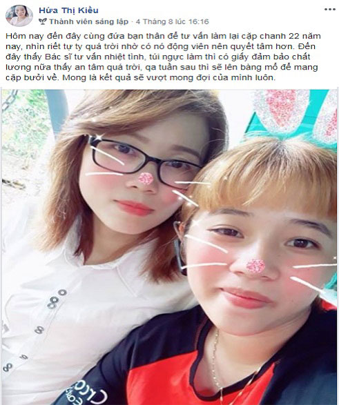 Nâng ngực nội soi ở An Giang