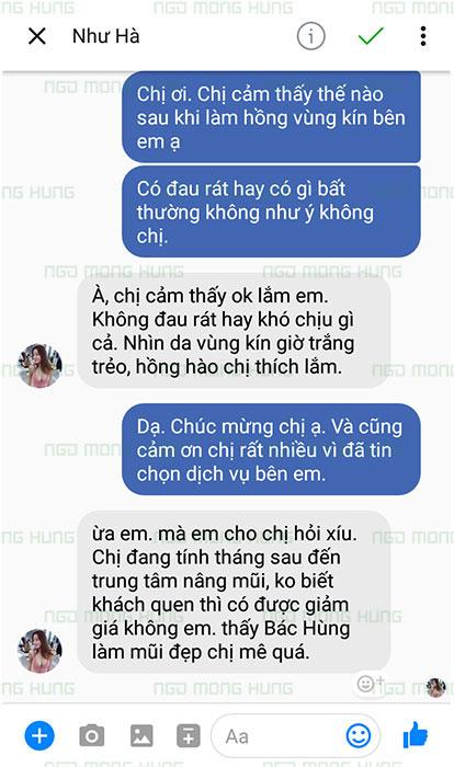 Trị Thâm Vùng Kín