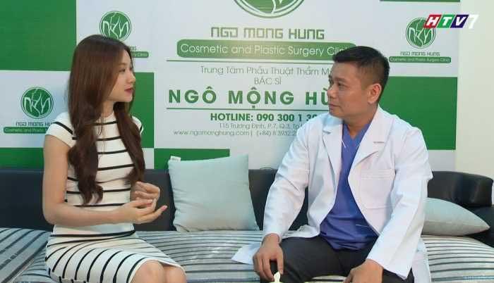 Nâng ngực nội soi đường nách