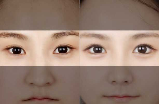Mắt xếch tốt hay xấu