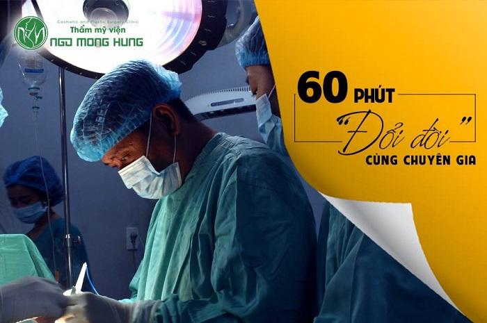 Phẫu thuật nâng ngực an toàn nhất