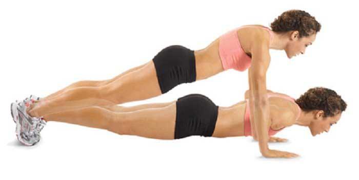 Bài tập thể dục làm nhỏ ngực