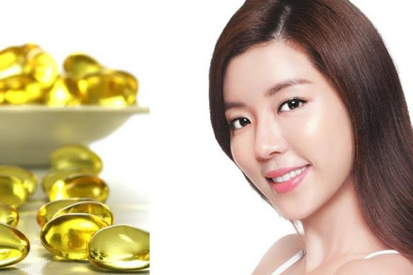 Xóa nếp nhăn bằng vitamin E