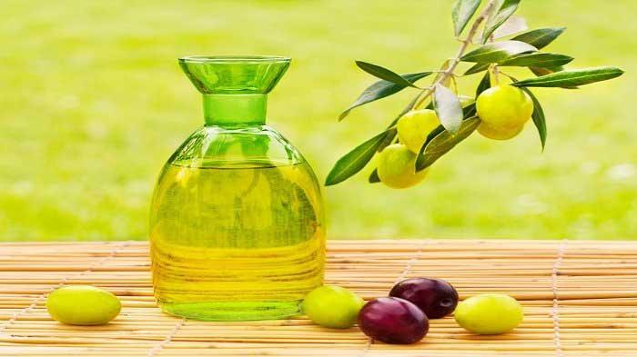Xóa nếp nhăn bằng dầu oliu