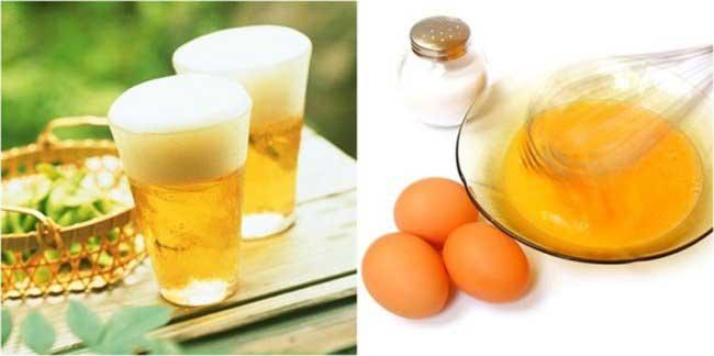 Làm căng da mặt bằng trứng gà