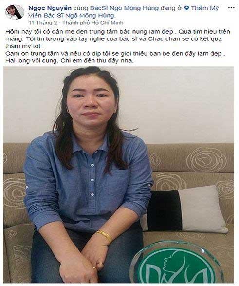 Bác Sĩ Thẩm mỹ Ngô Mộng Hùng