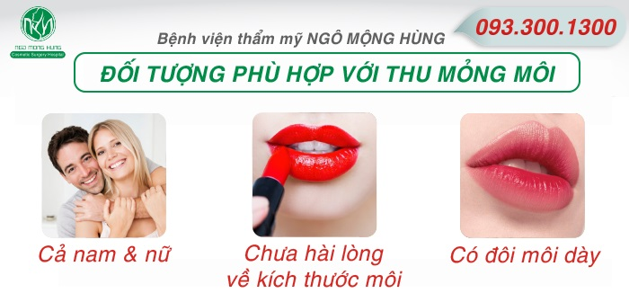 Thu mỏng môi